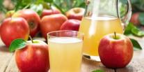 Entre le jus de pommes et le jus d'orange