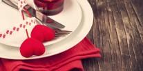 La St-Valentin (presque) au restaurant