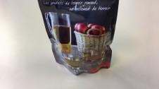 15 mars 2017: Distribution jus de pomme gare de Fribourg