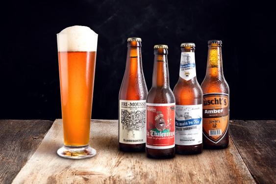 Handwerklich gebrautes Bier