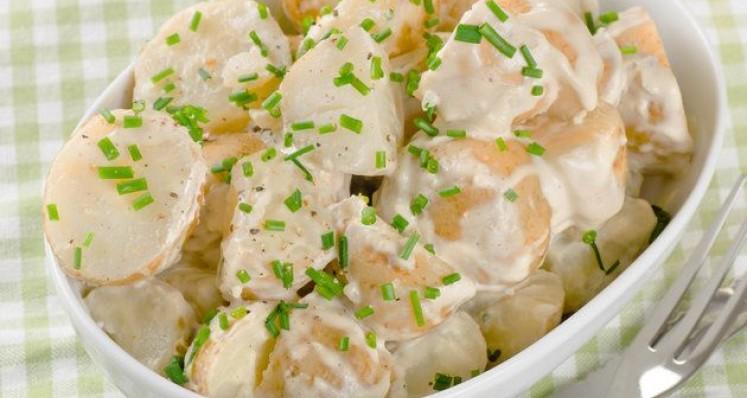 Salade de pommes de terre traditionnelles